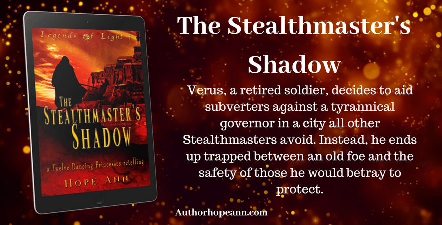 the stealthmaster's shadow graphic