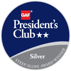 All Roof Solutions Receives GAF's Prestigious 2018 President's Club Award