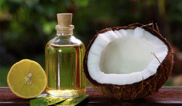 Óleo de coco - Home remédios para cicatrizes da acne