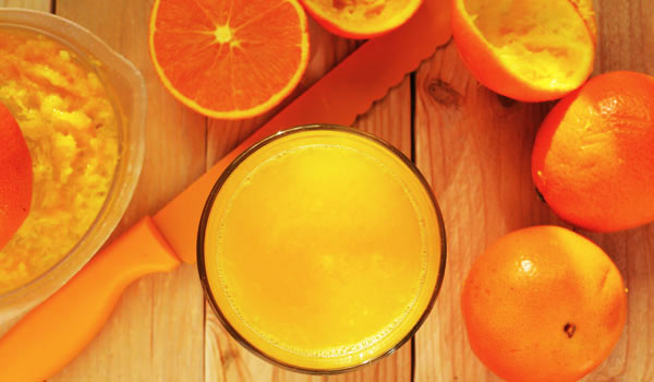 Orange-Juice Como parar de fumar