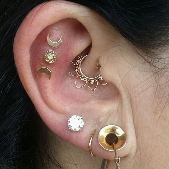 different ear piercings diagram wiring for ceiling light types of the complete list piercing names