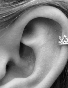 Upper ear piercing also piercings  images guide rh authoritytattoo