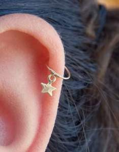 Helix piercing also different types of ear piercings  the complete list rh authoritytattoo