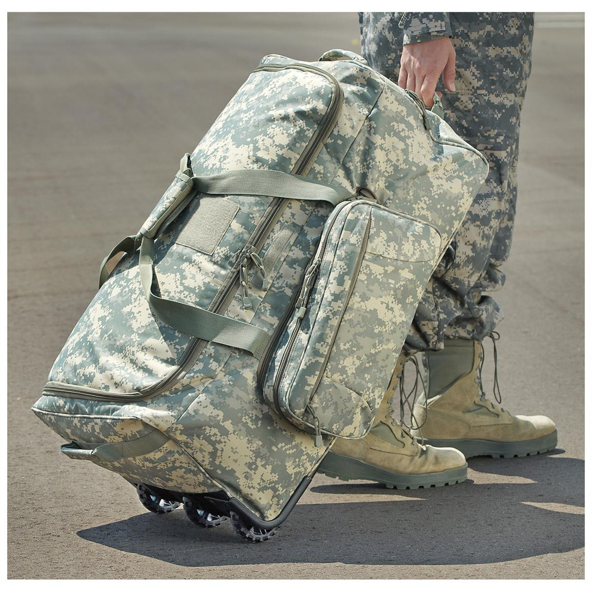 The Best Army Duffel Bags With Wheels Authorized Boots