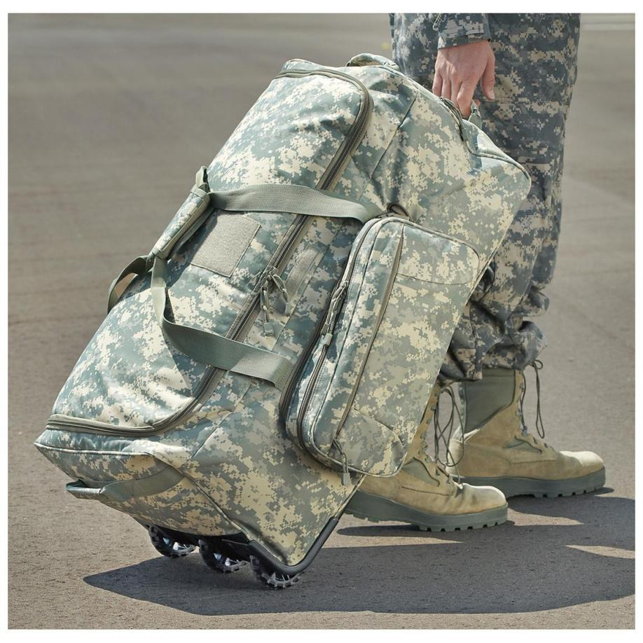 The Best Army Duffel Bags with Wheels  aef47214790