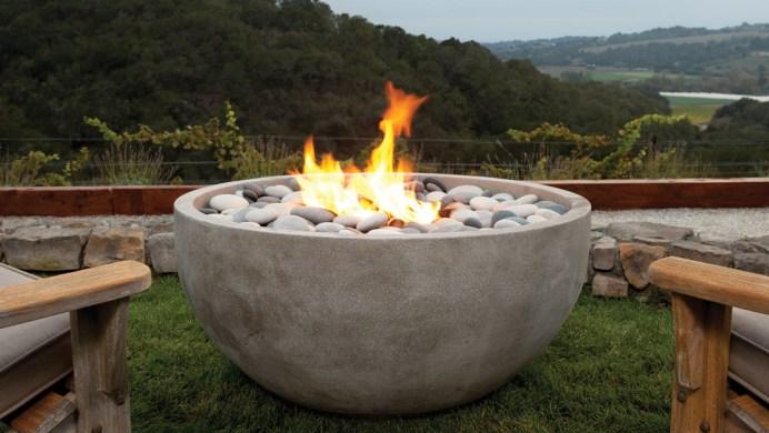Bowl of Rocks Fire Pit