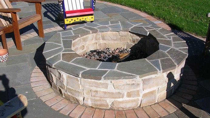 masonry fire pit
