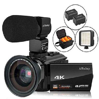AiTechny 4K Camcorder