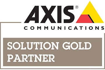 Axis Communications Gold Solutions Partner Logo