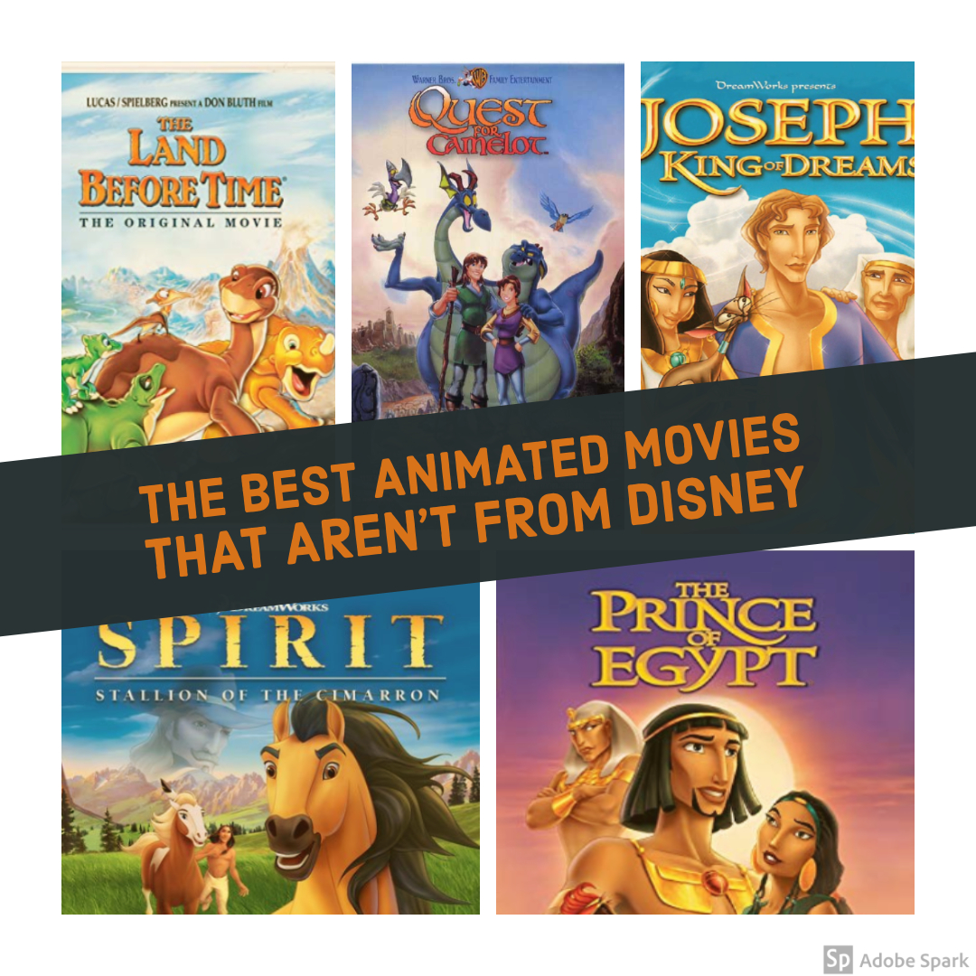 The Best Animated Movies That Aren't From Disney
