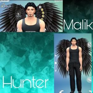 Malik's Character Image Print