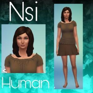 Nsi Character Image Print