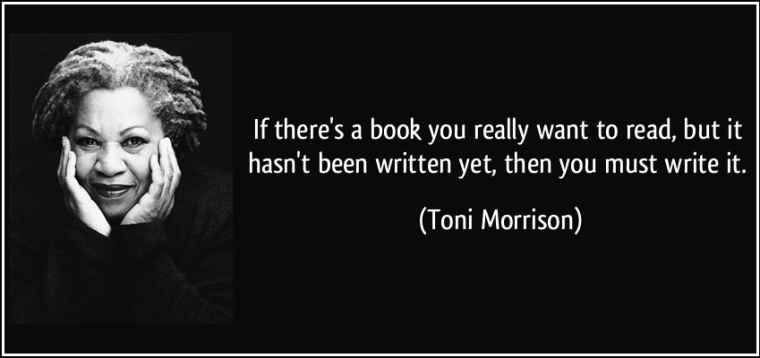 Author Joanne Reed This is Your Quest Toni Morrison Quote how to have superpowers