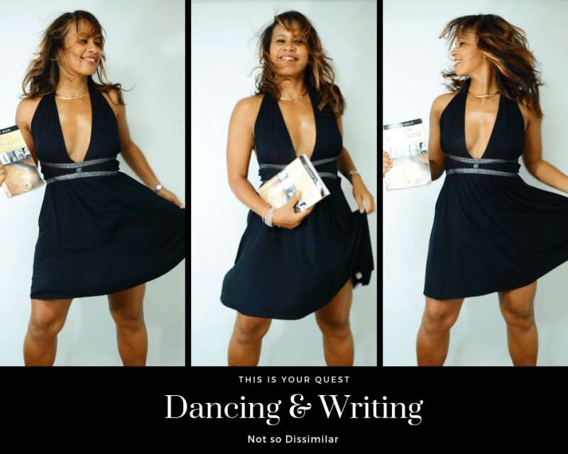 Author Joanne Reed Dancing and writing Not so dissimilar This is your quest State of flow
