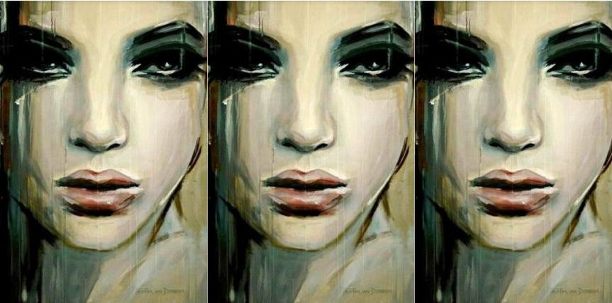 This is Your Quest Author Joanne Reed Portrait by Hester Van Doornum -  Tears of Sorrow or Tears of Joy?