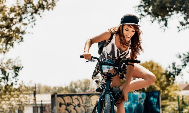 Girls, it's Time to Try Cycling, You Might Just Love it!