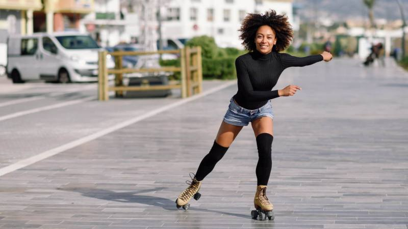 want a wheely good time  roller skating how to