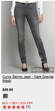 Curvy Skinny Jean? WTH?