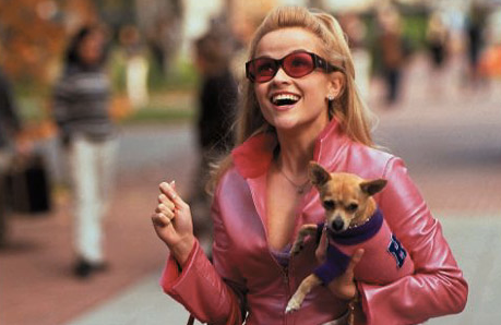 "Elle Woods in ""Legally Blonde."""