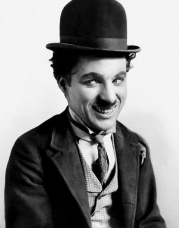 Charlie Chaplin. Image vie Wikimedia Commons