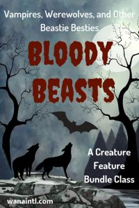 VAMPIRES, WEREWOLVES, PARANORMAL, GHOSTS, WRITING