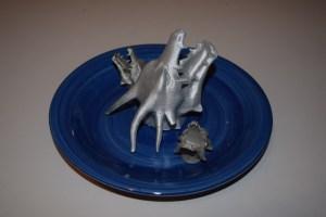 Mmmmmm, dragon heads on a plate.