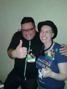 Horror and dark fantasy writers are friendly, I swear!