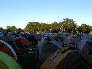 I attempted to capture the vast enormity of the PBV camp and utterly failed. It's a huge, sprawling thing.
