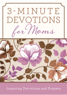 3 minute devotionals for moms book cover