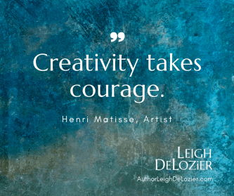 Creativity takes courage quote from Henri Matisse