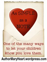 """My daughter LOVES to make me little """"I Love You"""" notes. So, when she asked me why I didn't make her any, I had to start."""
