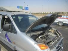 our car overheated in the middle of a BUSY highway