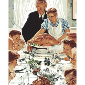 A Norman Rockwell Thanksgiving  Author Mccloskey Speaks