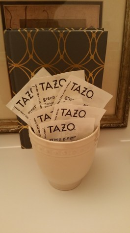 Tazo Green Ginger Tea & Better Homes and Gardens Mug