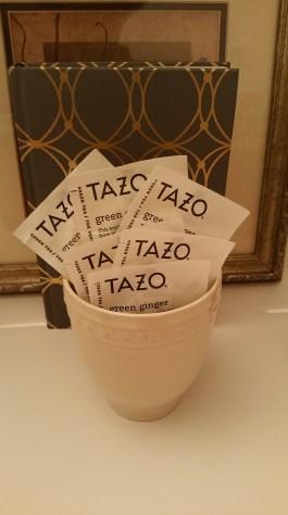 Tazo Green Ginger Tea & Better Homes and Gardens Mug