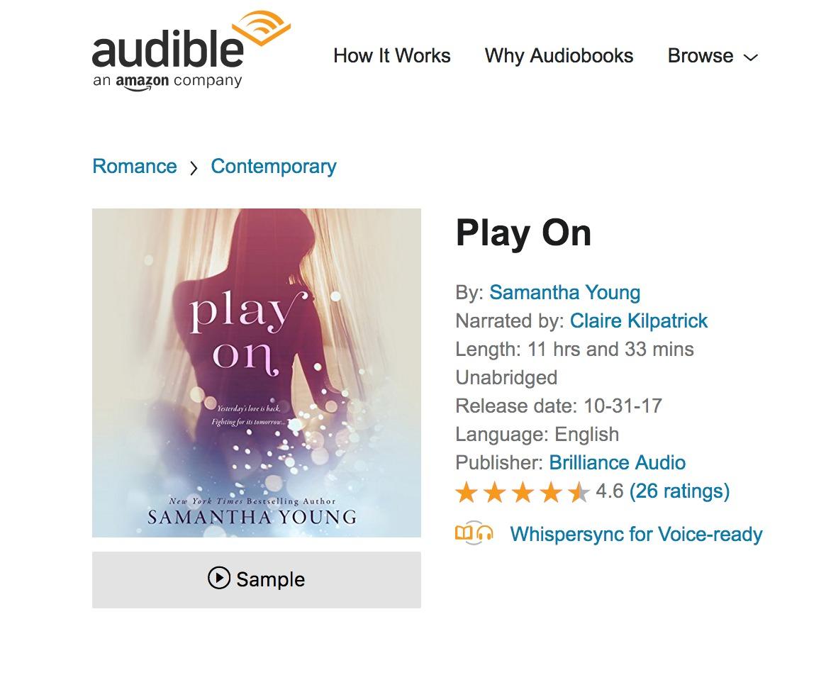 PLAY ON AUDIO