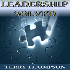 LEADERSHIP SOLVED AUDIO BOOK CD COVER