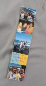 homemade bookmark birthday gift