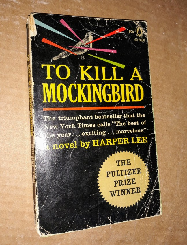 to kill a mockingbird paperback book cover from author s.m. stevens's blog