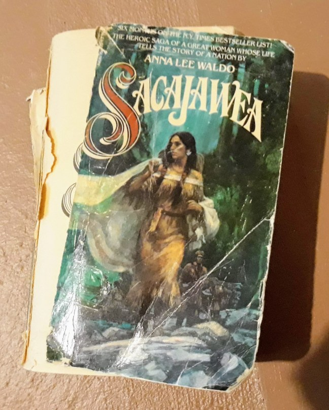 paperback book cover torn old sacajawea from author s.m. stevens's blog