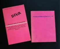 hot pink book covers diva