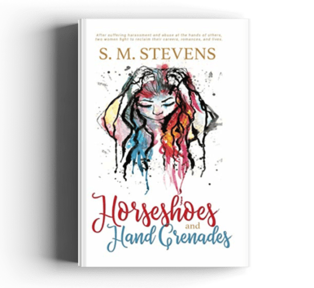 cover #metoo novel horseshoes and hand grenades