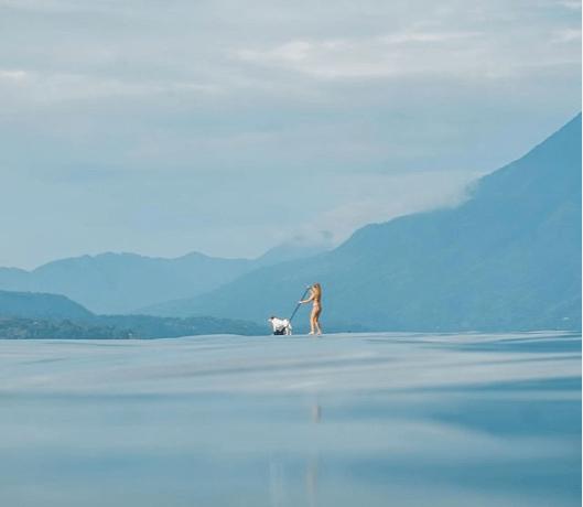 paddleboarding lake atitlan guatemala