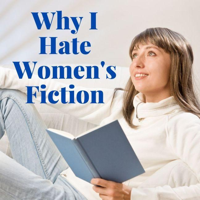 woman reading brown hair blue book white shirt
