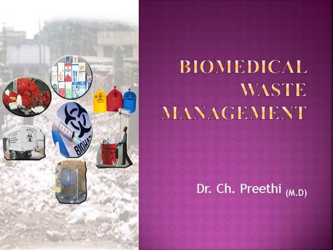 Thesis on biomedical waste management in india : Polis resume