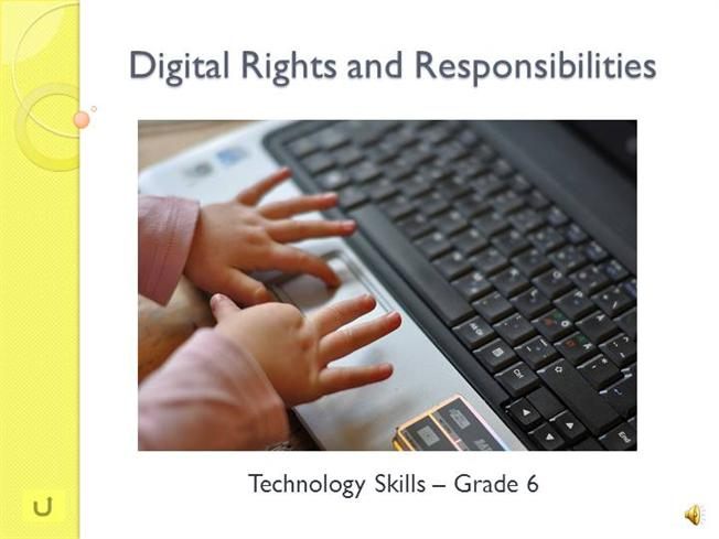 Digital Rights And Responsibilities AuthorSTREAM