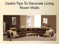 Useful Tips to Decorate Living Room Walls |authorSTREAM