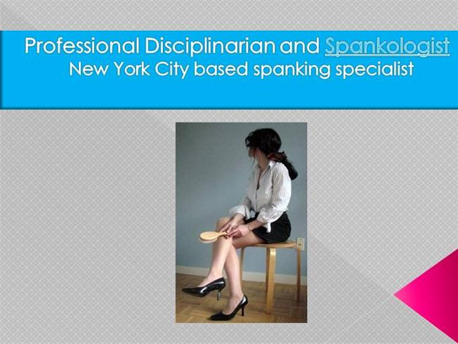 Professional Disciplinarian And Spankologist authorSTREAM