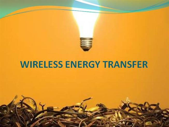 Picture Of Wireless Electric Energy Transfer Circuit