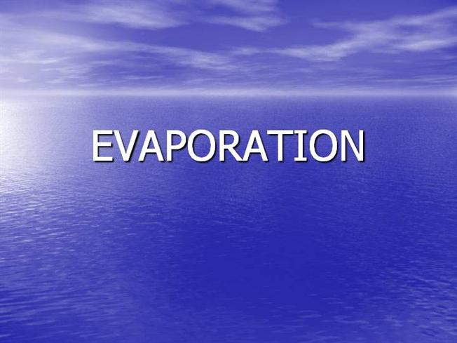EVAPORATION PP AuthorSTREAM